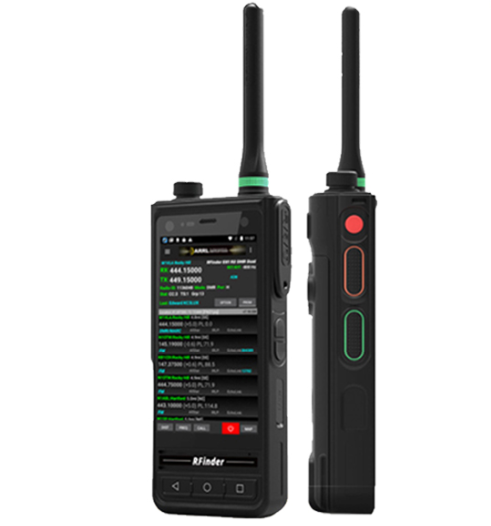 RFinder B1 Android DMR Radio Unboxing