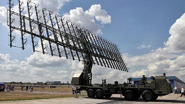Метровый модуль РЛС из комплекса 55Ж6МЕ «Небо-МЕ»
