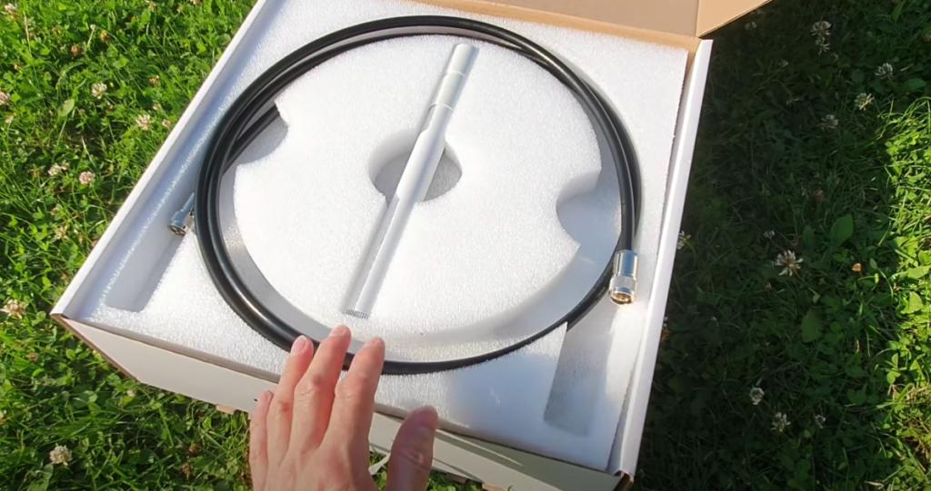 UltraLight Magnetic Loop Antenna