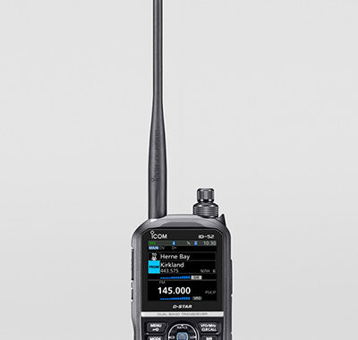 Icom releases the ID-52A/E Amateur Handheld Transceiver