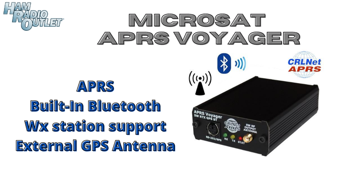 Microsat APRS Voyager + GPS-RS232