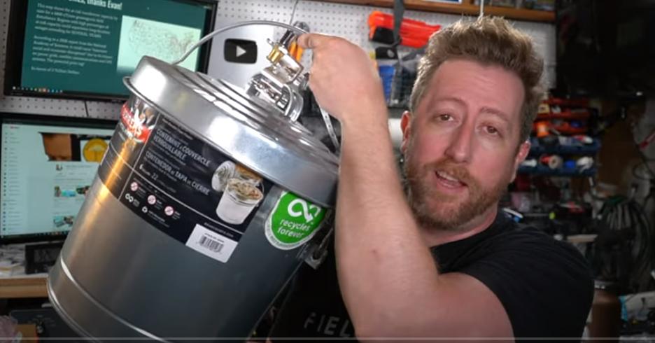 Ham Radio EMP Kit, The Tactical Trash Can