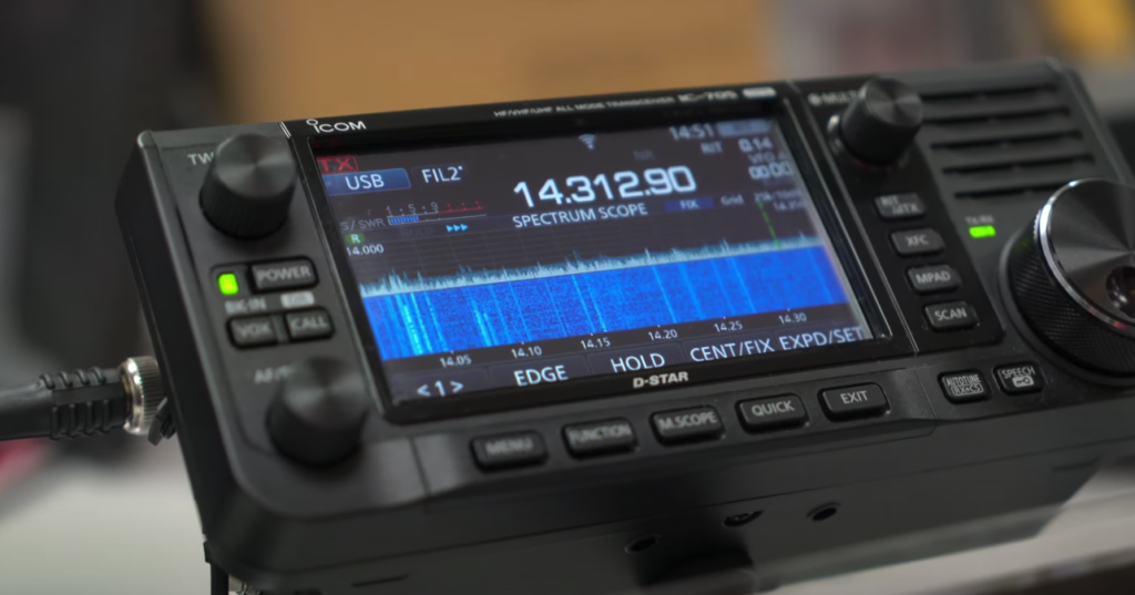 Icom IC-705 Live Stream Announcement