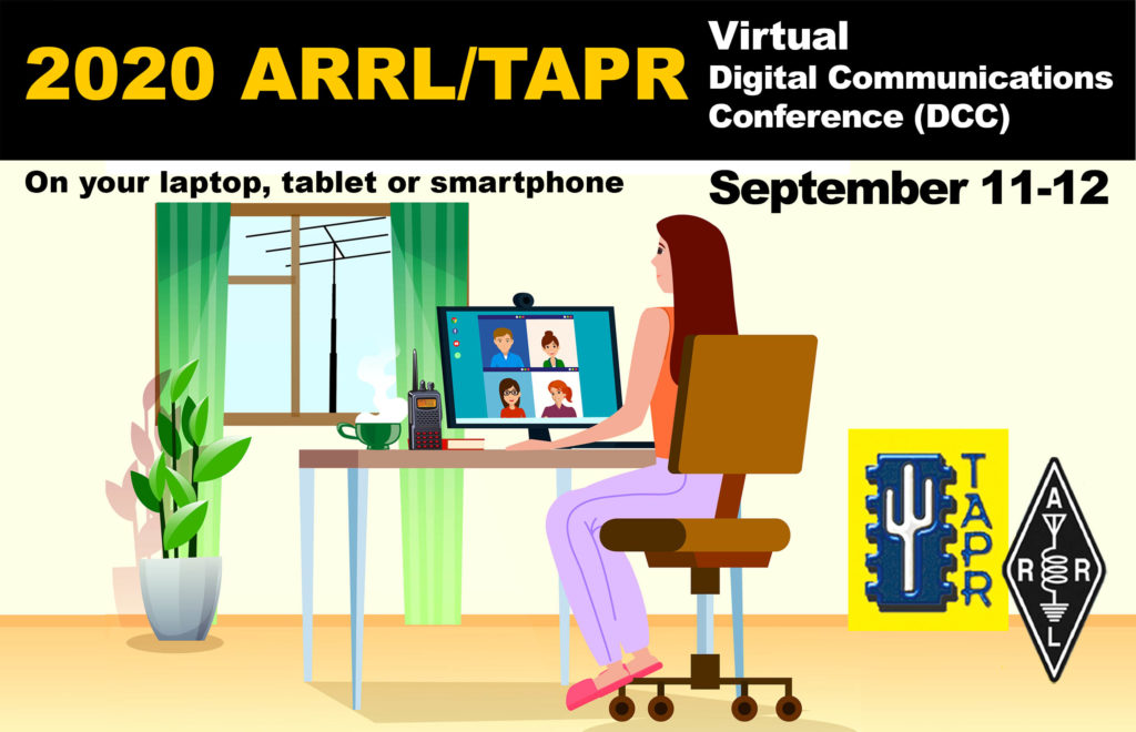 ARRL and TAPR Virtual Online Digital Communications Conference