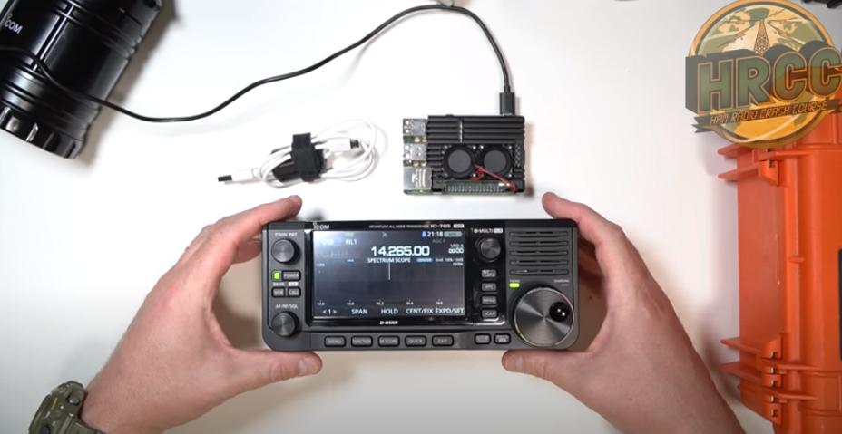 ICOM IC 705 Raspberry Pi Setup WITH GPS