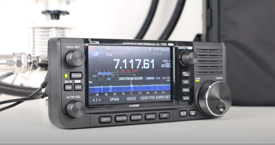 An In-Depth Look At ICOM IC-705 HF VHF UHF QRP Transceiver