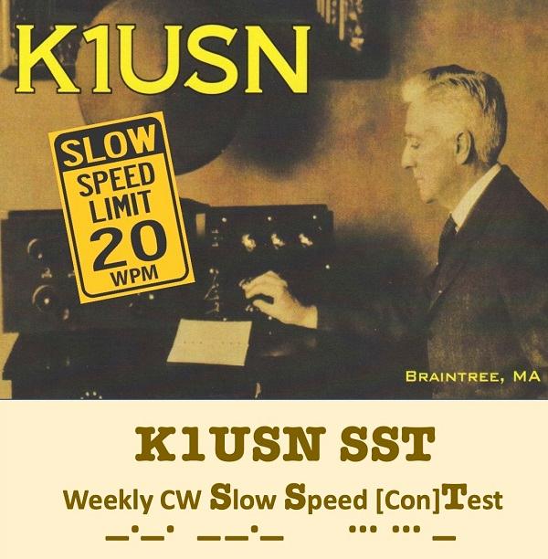 K1USN Radio Club Announces New Weekly Slow-Speed CW Contest