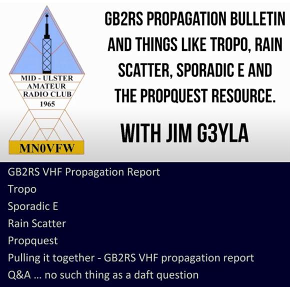 Video: VHF Propagation Presentation by Jim Bacon, G3YLA