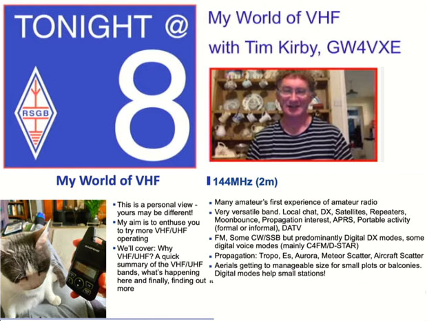 RSGB - My World of VHF with Tim Kirby GW4VXE