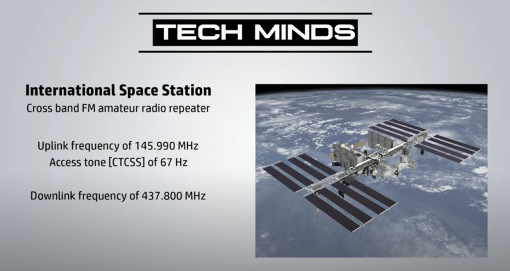 ISS International Space Station Cross Band FM Repeater