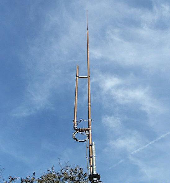 An Unusual Jpole Antenna