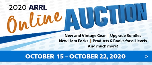 Get Ready for the 15th Annual ARRL Online Auction