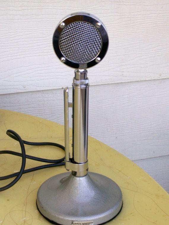 The Classic Astatic D-104 Microphone