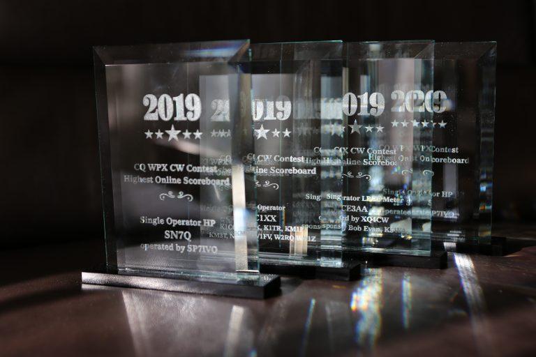 CQ WW SSB/CW 2020 Online Scoring Trophy program