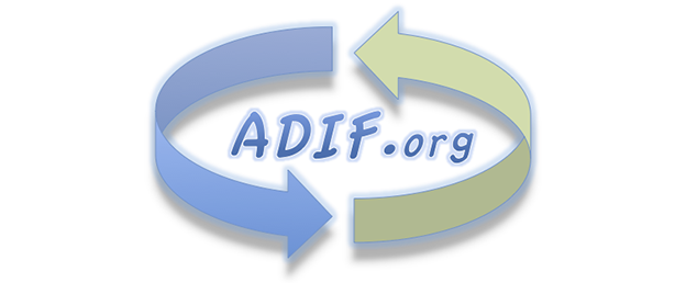 The ADIF format now includes the new 5m & 8m bands