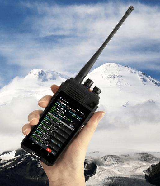 The Most Advanced DMR & 4G LTE Radio – RFinder B1