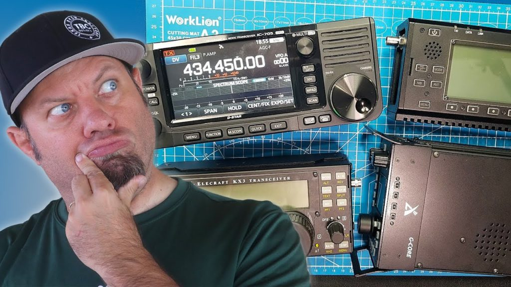 IC-705 vs KX3 vs X5105 vs G90 – QRP Ham Radio Comparison