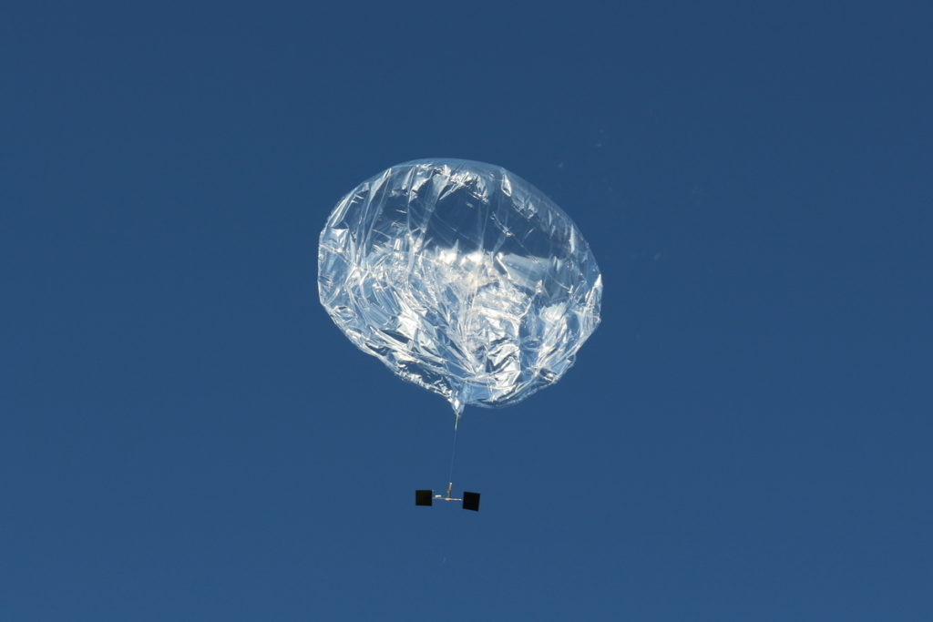 Multiple Balloons Carrying Ham Radio Payloads Launched