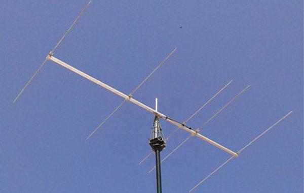 5-Element Yagi for 40 MHz (8-metres) by YU7EF