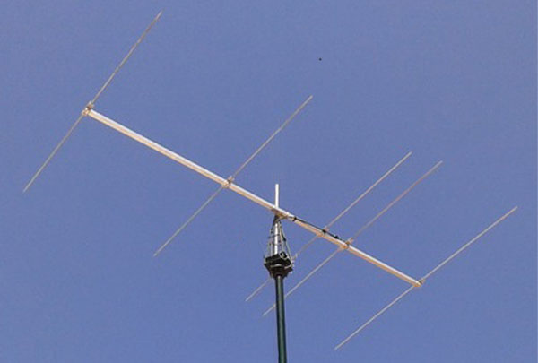 5-Element Yagi for 40 MHz (8-metres) by YU7EF