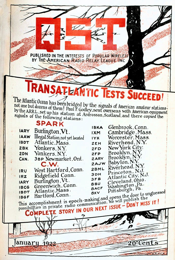 Transatlantic Tests Mark 99th Anniversary