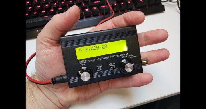 Introducing QCX-mini 5W CW transceiver