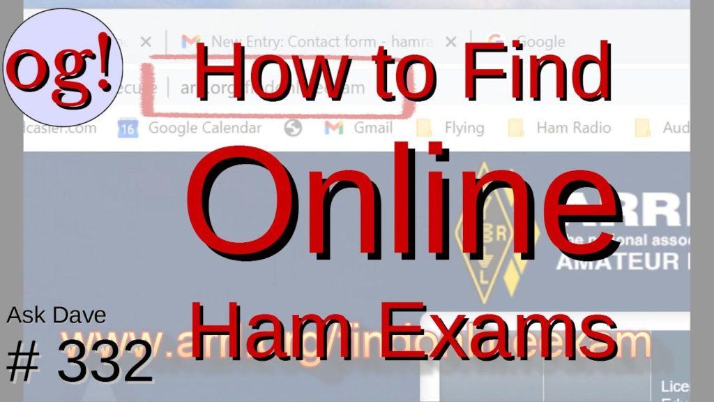 How to Find Online Ham Radio Exams