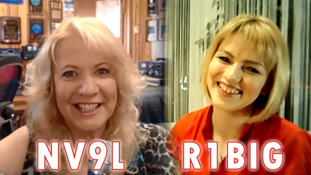 Valerie NV9L & Raisa R1BIG: to meet a future spouse in a Ham Contest