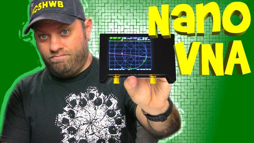 NanoVNA SAA2 Version 2 Vector Network Analyzer – Ham Radio Antenna Analyzer