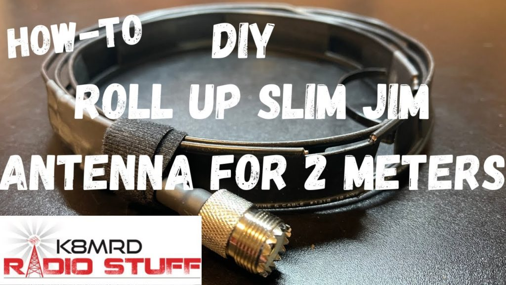 Build your own Roll Up Slim Jim Antenna for the 2 Meter Ham Radio Band