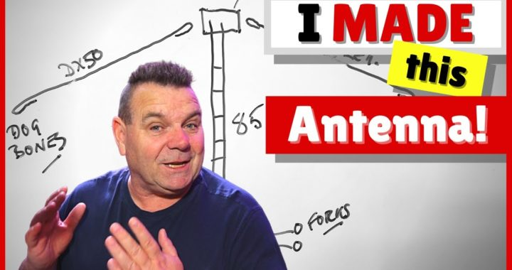 How To Make a Doublet Antenna for Ham Radio – No Talking – ASMR style