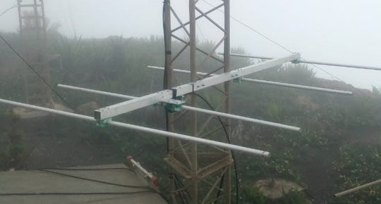 D4VHF on Cape Verde plans to be on the 70 MHz band during the Summer of 2021