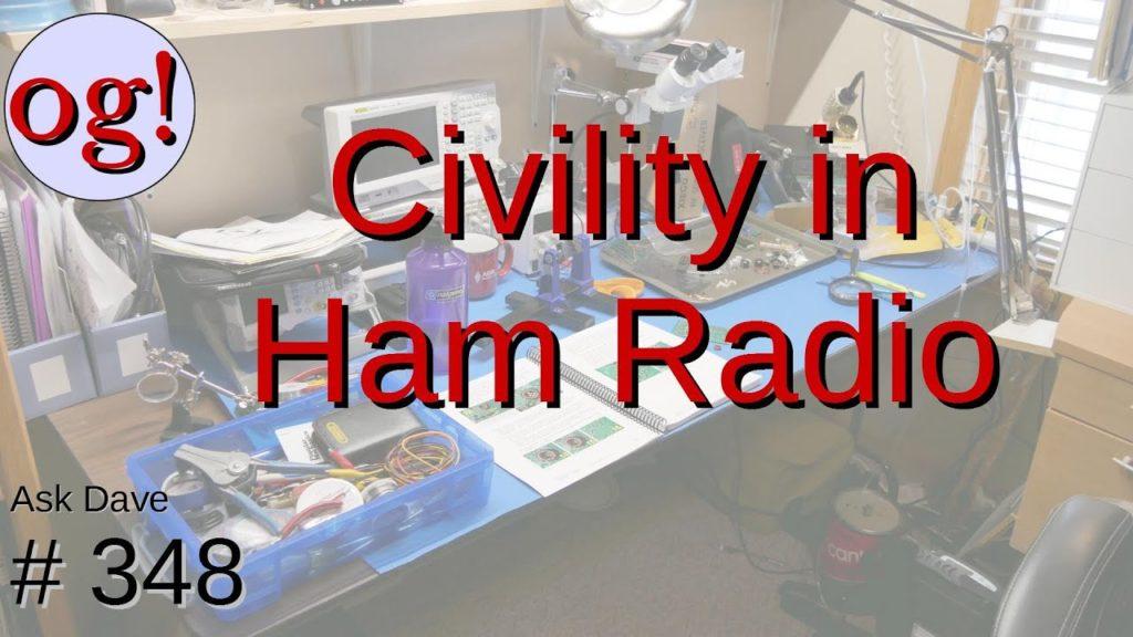 Civility in Ham Radio: The Amateur's Code