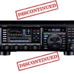 Yaesu FTdx3000 Discontinued